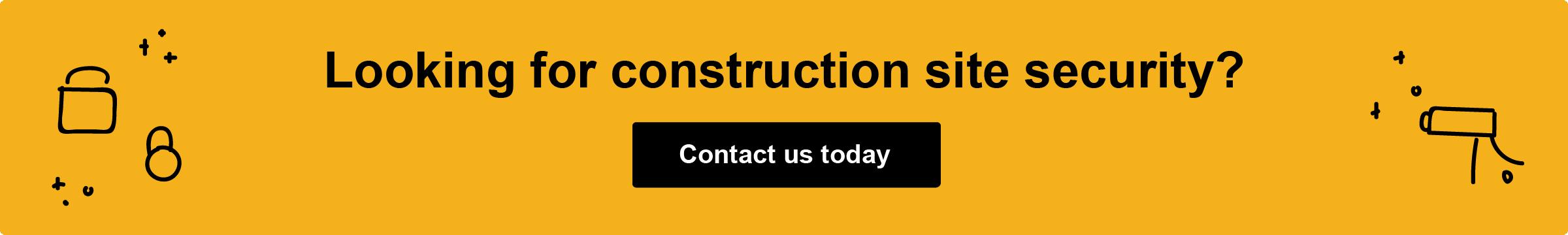 CSA Contact Us Construction Site Security